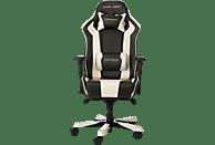 DXRACER King Gaming Stuhl, Schwarz/Weiß