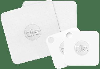 TILE Slim & Mate 4er Pack Bluetooth-Tracker Weiß