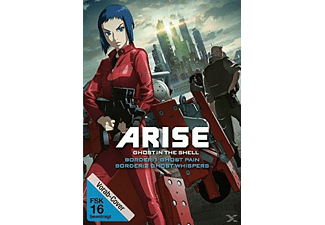 Ghost in the Shell Arise: Border 1 - Ghost Pain & Ghost in the Shell Arise: Border 2 - Ghost Whisper DVD