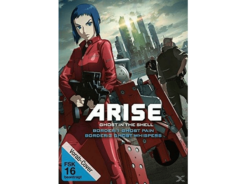 Ghost in the Shell Arise: Border 1 - Ghost Pain & Ghost in the Shell Arise: Border 2 - Ghost Whisper [DVD]