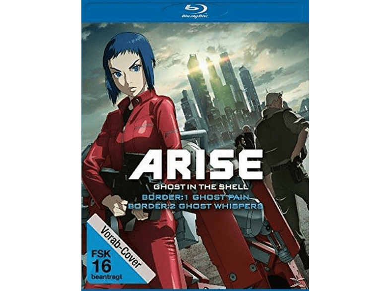 Ghost in the Shell Arise: Border 1 - Ghost Pain & Ghost in the Shell Arise: Border 2 - Ghost Whisper [Blu-ray]