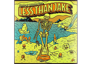 Less Than Jake - Greetings And Salutations [Yellow V  - (Vinyl)