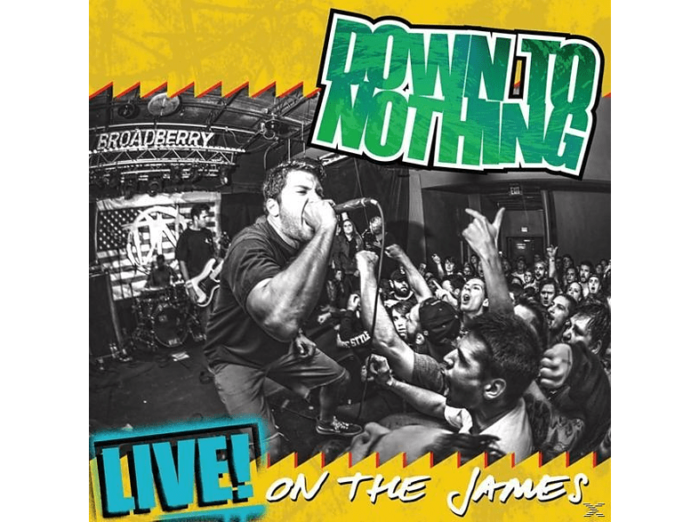 Down To Nothing - Life! On The James [LP + Download]
