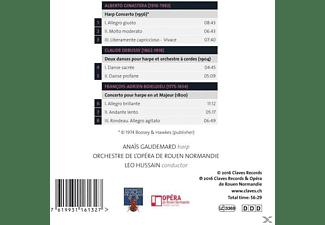 Anais Gaudemard - Harfenkonzerte  - (CD)