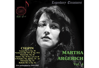 Martha Argerich - Legendary Treasures-Martha Argerich Vol.4  - (CD)