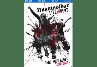 Unantastbar - Live Ins Herz (Ltd. Erstauflage inkl.USB-Stick)  - (Blu-ray)
