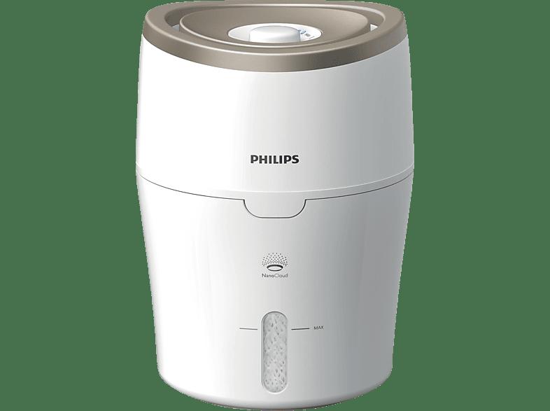 PHILIPS HU 4811/10 Series 2000 Luftbefeuchter Weiß/Champagner (17 Watt, Raumgröße: 38 m²)