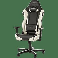 DXRACER Racing Gaming Stuhl, Schwarz/Weiß