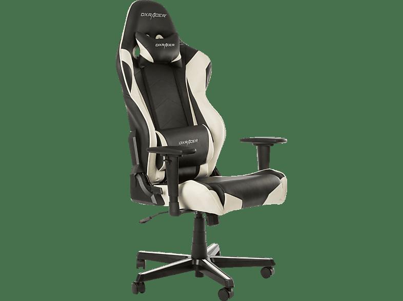 Dxracer Racing Gaming Stuhl Schwarzweiß