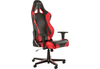 DXRACER Racing Gaming Stuhl, Schwarz/Rot