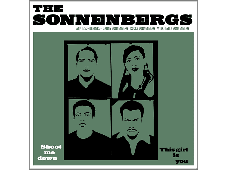The Sonnenbergs - Shoot Me Down/This Girl Is Y [Vinyl]
