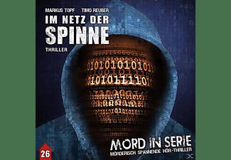 Kirchberger,Stephanie/Schmidt,Tobias/Schulzki,Rüdi - Mord in Serie 26: Im Netz der Spinne (1/2)  - (CD)