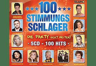 VARIOUS - 100 Stimmungsschlage,Die Party Geht Weiter  - (CD)
