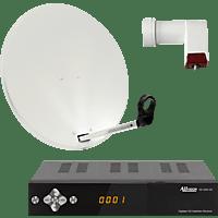ALLVISION SAH 1000/60 HD S2 Premium HDTV Sat-Receiver (60 cm, Hochleistungs Single-LNB)