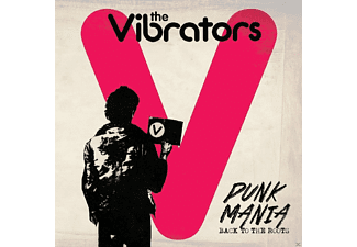 The Vibrators - PUNK MANIA - BACK TO THE ROOTS - (Vinyl)
