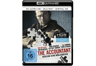 The Accountant 4K Ultra HD Blu-ray + Blu-ray