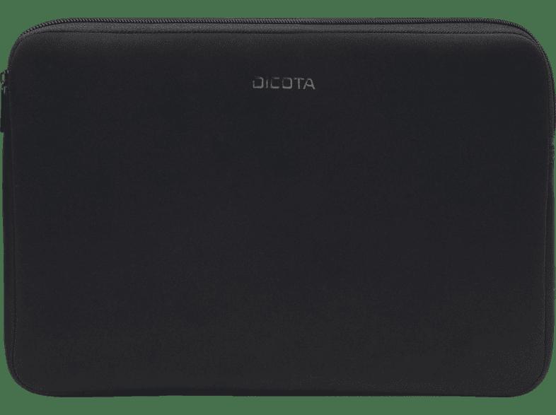DICOTA D31185 Perfekt Skin Notebooktasche, Sleeve, 12.5 Zoll, Schwarz
