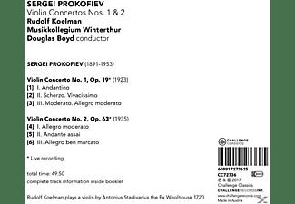 Rudolf / Musikkollegium Winterthur Koelman - Violinkonzerte 1 & 2  - (CD)