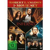 The Da Vinci Code - Sakrileg / Illuminati / Inferno [DVD]