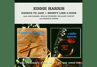 Eddie Harris - EXODUS TO JAZZ/MIGHTY LIKE A ROSE  - (CD)