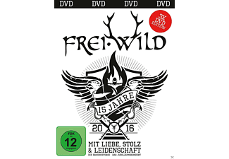 Frei.Wild - 15 Jahre Mit Liebe,Stolz Und Leidenschaft  - (DVD)