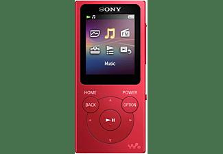 SONY Walkman NW-E394 Mp3-Player (8 GB, Rot)