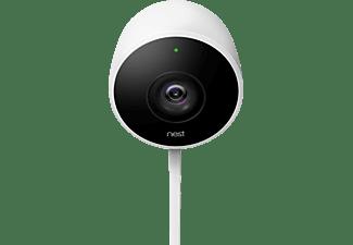 NEST Cam Outdoor-Überwachungskamera, weiß