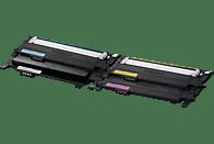 SAMSUNG CLT-P406C Original Toner Schwarz/Cyan/Magenta/Gelb