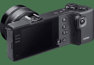 SIGMA DP1 Quattro Kit Systemkamera mit Objektiv 19 mm f/16