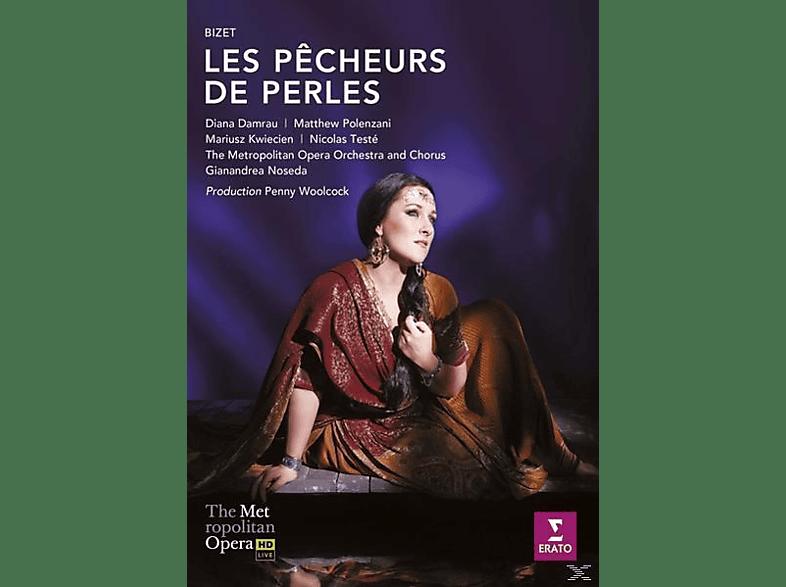 Diana Damrau, Mariusz Kwiecien, Nicolas Testé, Matthew Polenzani, The Metropolitan Opera Orchestra And Chorus - Les Pecheurs De Perles (Die Perlenfischer) [DVD]