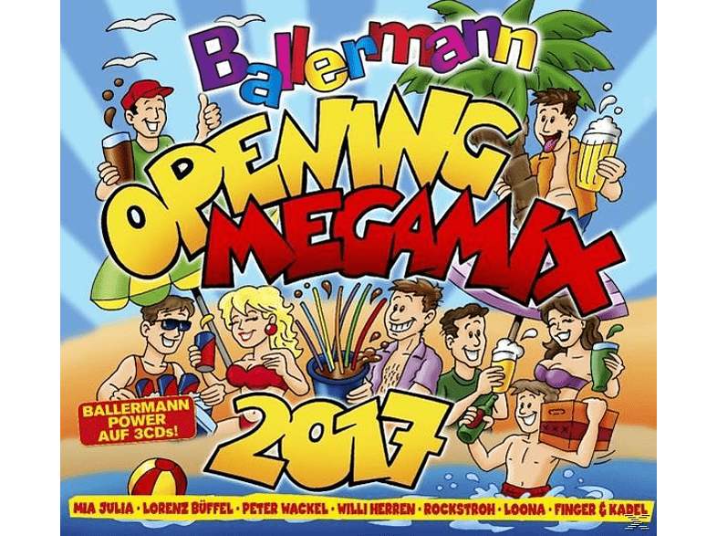 VARIOUS - Ballermann Opening Megamix 2017 [CD]