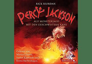 - Percy Jackson - Auf Monsterjagd mit den Geschwistern Kane  - (CD)