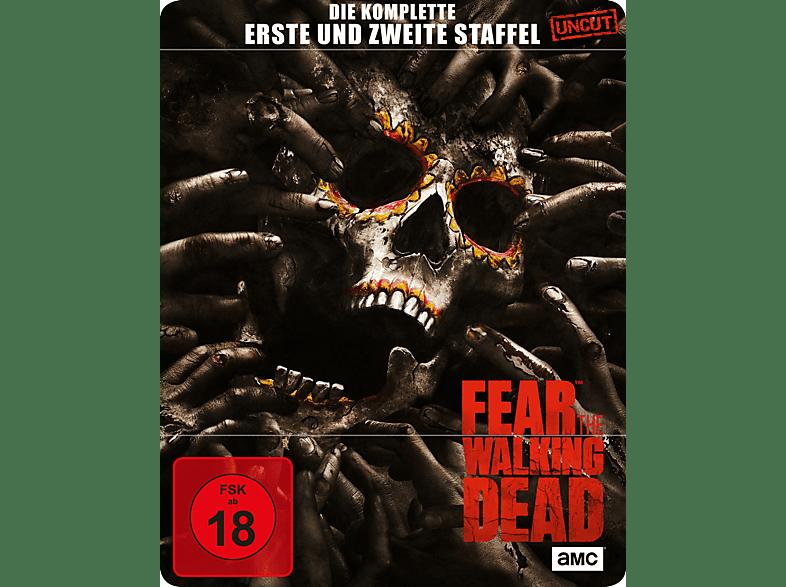 Fear the Walking Dead - Staffel 1 + 2 (Limitiertes Steelbook) [Blu-ray]