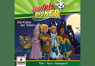 Teufelskicker - 065/Die Kicker der Tafelrunde!  - (CD)