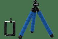 ROLLEI 22620 Dreibein Stativ, Blau, Höhe offen bis 160 mm