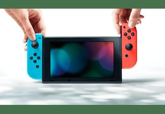 NINTENDO Switch Neonrot/blau (neue Edition)