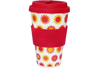 ECOFFEE CUP HAPPY kávéspohár fedővel, 400ml