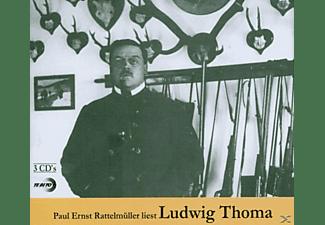 Paul Ernst Rattelmüller - liest Ludwig Thoma  - (CD)