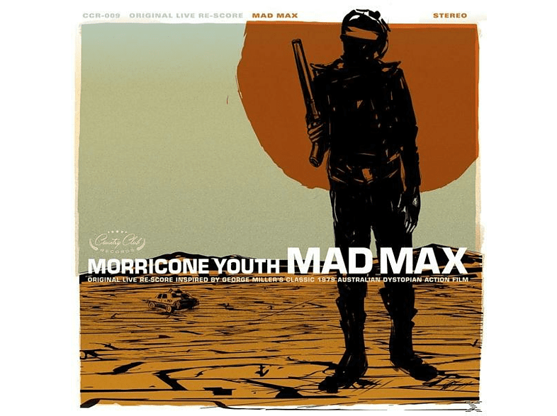 Morricone Youth - Mad Max (Gold Vinyl) [LP + Download]