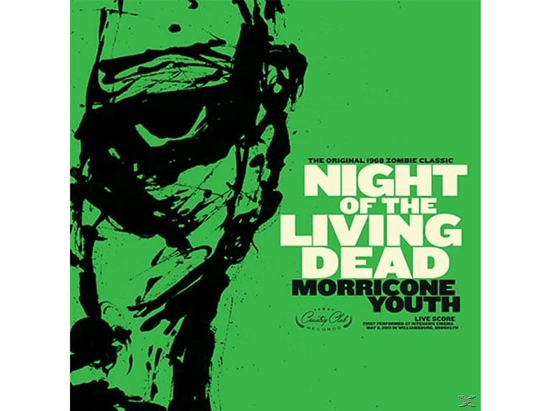 Morricone Youth - Night Of The Living Dead (Orange Vinyl) [LP + Download]