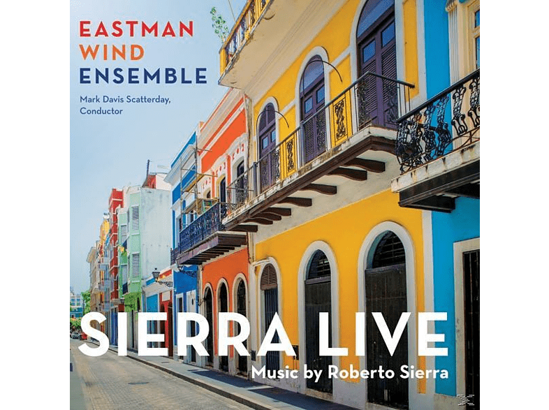 Eastman Wind Ensemble - Sierra Live [CD]