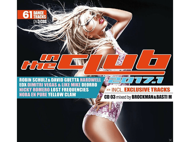 VARIOUS - In The Club 2017.1 [CD]