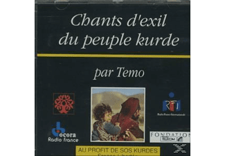 VARIOUS - CHANTS D EXIL DU PEUPLE KURDE  - (CD)