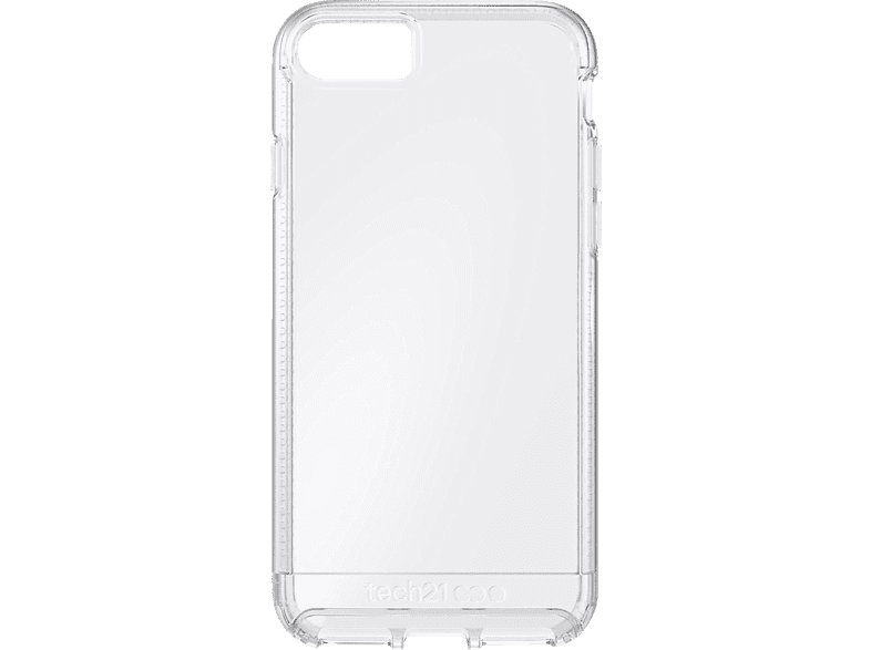 TECH21 Impact Clear , Backcover, Apple, iPhone 7, TPU/PC/BASF polymer, Transparent