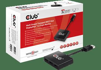 CLUB-3D Multi Stream Transport Hub DisplayPort 1-3 (CSV-5300A)