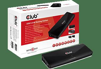 CLUB3D SenseVision USB 3.0 4K Docking Station (CSV-3103D)
