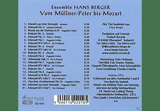 Hans Ensemble Berger - Vom Müllner-Peter bis Mozart  - (CD)