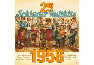 VARIOUS - 25 Schlager Kulthits 1958  - (CD)