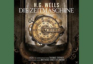 BEARBEITER: T. TIPPNER - GELESEN VON M.E. HOLZMANN - Die Zeitmaschine-H.G.Wells  - (CD)