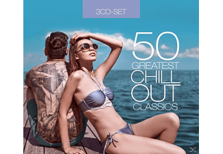 VARIOUS - 50 Greatest Chillout Classics  - (CD)